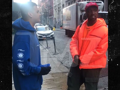 Kanye West Takes Homeless Man Into Studio After Street Audition