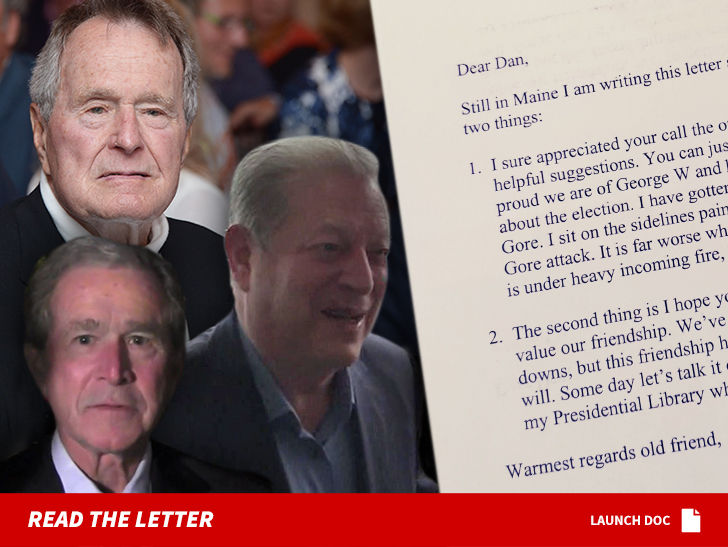 George H W Bush S Letter About Hating Al Gore For Sale At Over 10k
