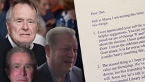 George H.W. Bush's Letter About Hating Al Gore For Sale At Over $10k