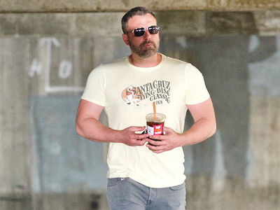 Ben Affleck Looks Super Buff During Rehab Stint
