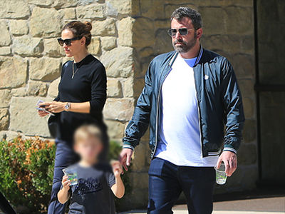 Ben Affleck Breaks from Rehab for Church with Jennifer Garner & Kids