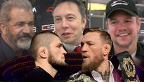 Elon Musk Tops Huge VIP List for Conor vs. Khabib Fight