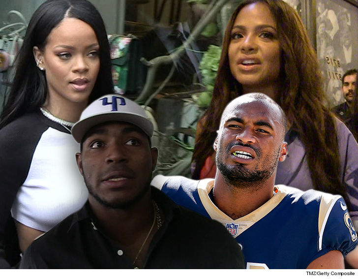 1001 rihanna christina milian robert woods yasiel puig tmz getty 3 - Suspect in Rams' Star Robert Woods' Burglary Tied to Rihanna, Puig & Milian Break-Ins