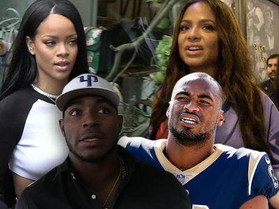 Suspect in Rams' Star Robert Woods' Burglary Tied to Rihanna, Puig & Milian Break-Ins