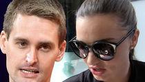 Miranda Kerr and Evan Spiegel's Home Swarmed by Cops for Suspected Burglar