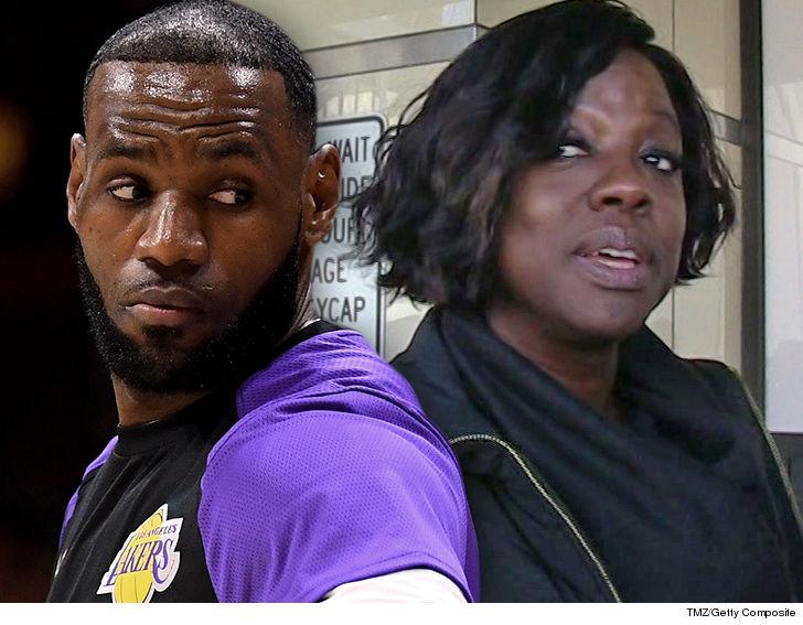 LeBron James, Viola Davis Targeted By Celebrity Burglars, LAPD Says