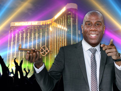 Magic Johnson to be Honored in Vegas with Key to the City, Putting on a Concert