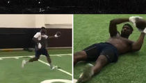 Dez Bryant Shows Off Hands In Field Workout, Message To NFL??