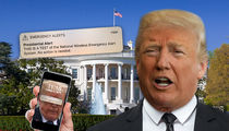 Donald Trump Sends Americans First Nationwide Presidential Alert Text
