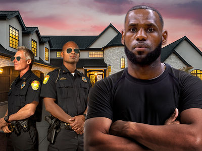 LeBron James Fortifies L.A. Mansion with Firepower After Burglary Plot
