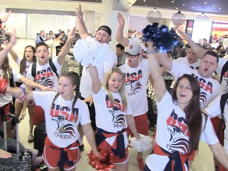 USA Cheer Team Meet Our LeBron!!