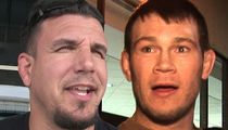 Frank Mir Fighting Forrest Griffin In Jiu-Jitsu Tourney