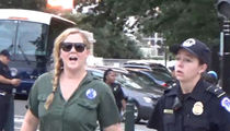 Amy Schumer Arrested with Kavanaugh Protesters in D.C., Takes Immediate Pee Break