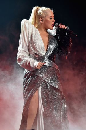 Christina Aguilera Performs at Radio City Music Hall