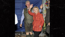 Bill and Hillary Clinton Do Oktoberfest