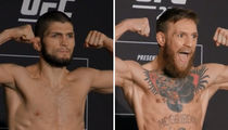 Khabib Nurmagomedov, Conor McGregor Make Weight for UFC 229