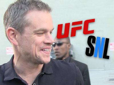 Matt Damon Chooses UFC 229 Over Playing Kavanaugh on 'SNL'