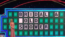 'Wheel of Fortune' Player Has Gold Shower On the Brain