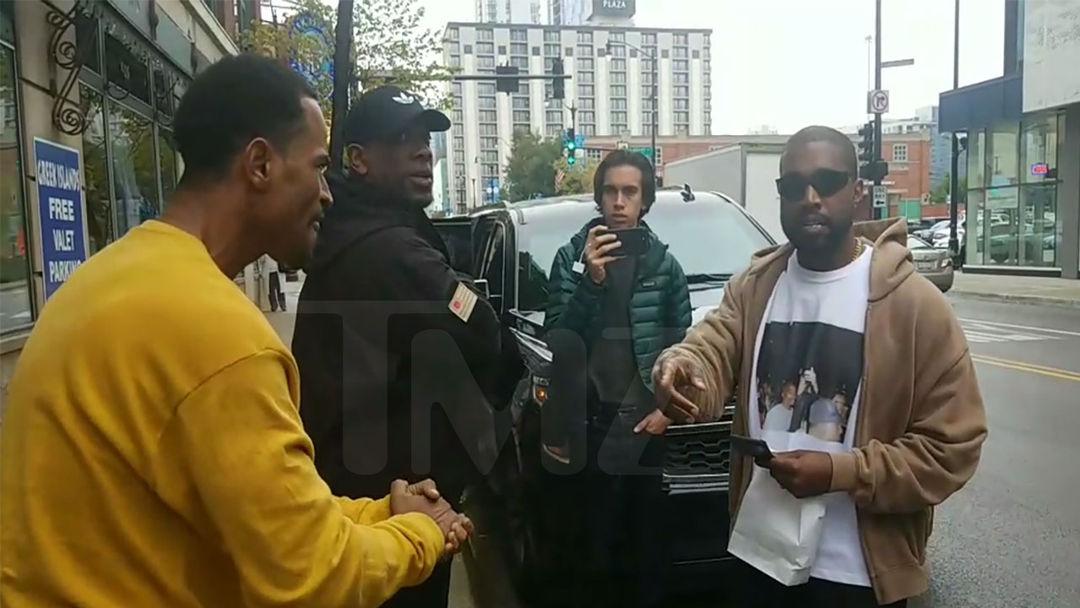 76e1b748de4e2 Kanye West Gives Homeless Man  100