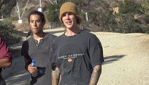 Justin Bieber Raps About Jesus on Hike and Praises Rapping Photog