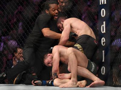 Khabib Destroys Conor McGregor at UFC 229, Attacks Conor's Team