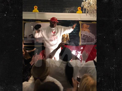Kanye West & Chance the Rapper Share Daddy Duty with Kids at Sugar Factory