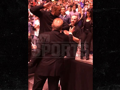 Paul Pierce Scuffles with Security and Calls Them Racist at McGregor Fight