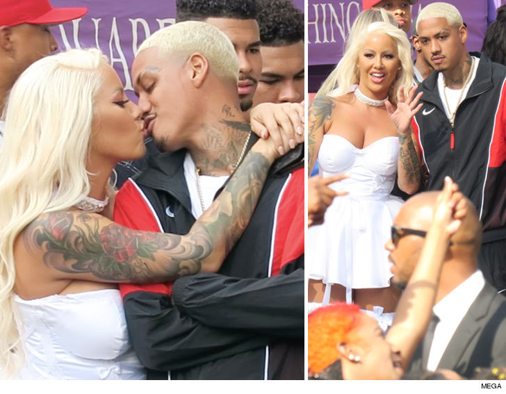 Is Amber Rose dating Monte Morris
