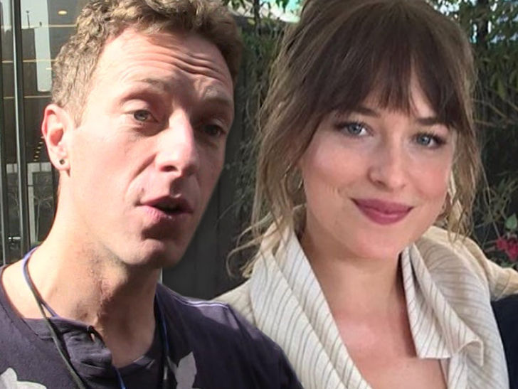 Chris Martin & Dakota Johnson Throw Star-Studded Gender ...