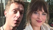 Chris Martin & Dakota Johnson Throw Star-Studded Gender Reveal Party