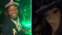 Cardi B and Offset Drop Huge Cash at Strip Club for First Time Since Brawl