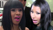 Cardi B and Nicki Minaj: First Face-to-Face at AMAs Since Shoe Throwing Incident