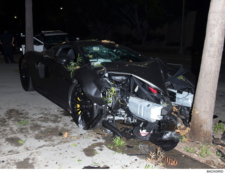 Terrence J And Mystery Woman Involved In Car Crash, Reps Say
