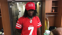 Alvin Kamara Wears Kaepernick Jersey, 'Make Africa Home Again' Hat After 'MNF'