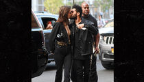 Bella Hadid Getting Birthday Kiss From The Weeknd in New York City