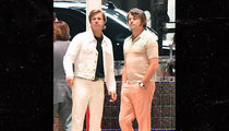 Brad Pitt & Leonardo DiCaprio Rock '60s Look for 'Once Upon a Time in Hollywood'
