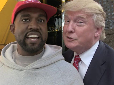 Kanye West and President Trump Doing White House Meeting