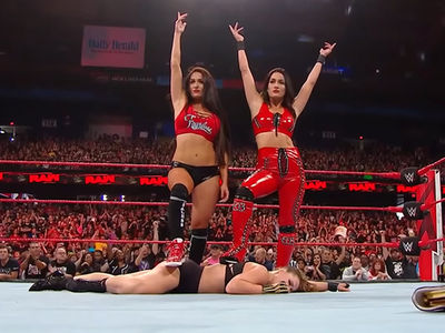 Ronda Rousey Double-Crossed and Attacked By Bella Twins On 'Raw'