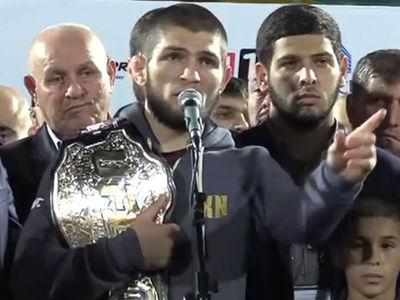 Khabib Gets Hero's Welcome In Dagestan, 'You Inspired Me!'