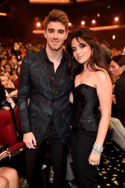 Andrew Taggart of the The Chainsmokers and Camila Cabello