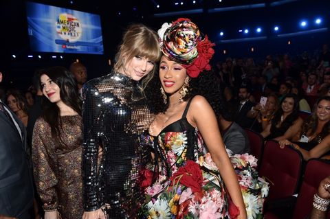 Taylor Swift and Cardi B