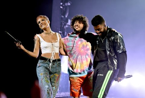 Halsey, Benny Blanco and Khalid