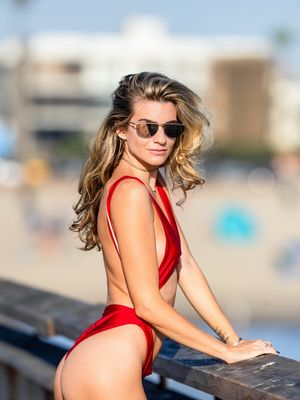 Rachel McCord's Red Hot Bikini Bod