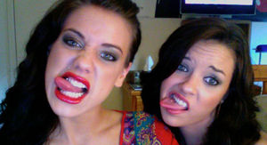 Tess Taylor and Alexis Neiers from 'Pretty Wild' 'Memba Them?!