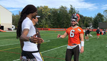 Snoop Dogg Visits Cleveland Browns Practice, Joining the Dawg Pound?