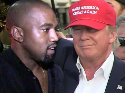 Kanye West Gets Front Row Seat to See Trump Sign New Music Law