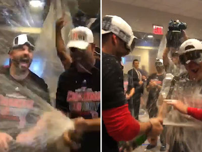 Boston Red Sox Kill Yankees Season in ALDS, Celebrate with Booze Funeral