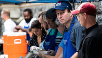 Justice Brett Kavanaugh Serves Meals to the Homeless in Washington, D.C.