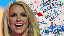 Britney Spears' Earliest Known Autograph to Hit Auction Block