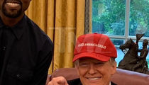 Kanye West Gifted Trump A 'Make America Great' Hat and Yeezys